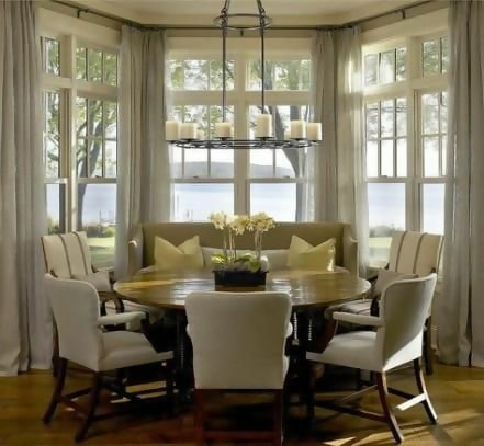 37+ trendy breakfast nook curtains ideas living rooms #breakfast