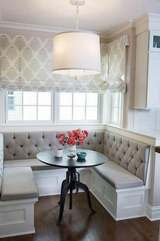 50+ Incredible Space-Saving Corner Breakfast Nook Furniture Sets #furniture #furnituredesign #furnituredesignideas