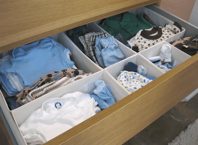 Baby Clothes Storage Ideas