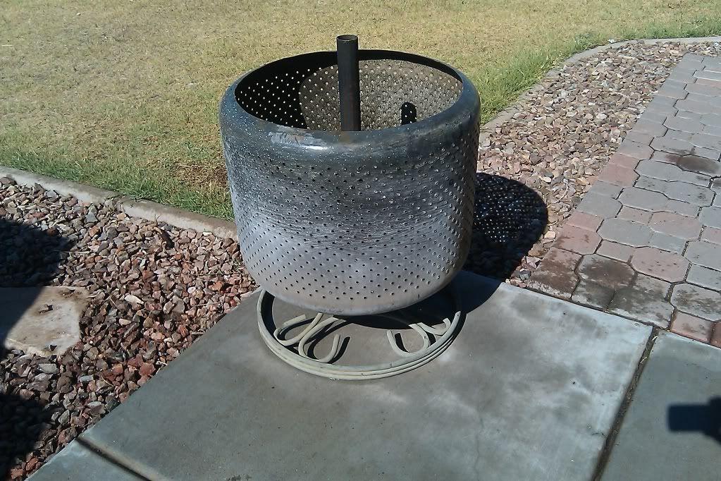 DIY Washing Machine Drum Fire Pit