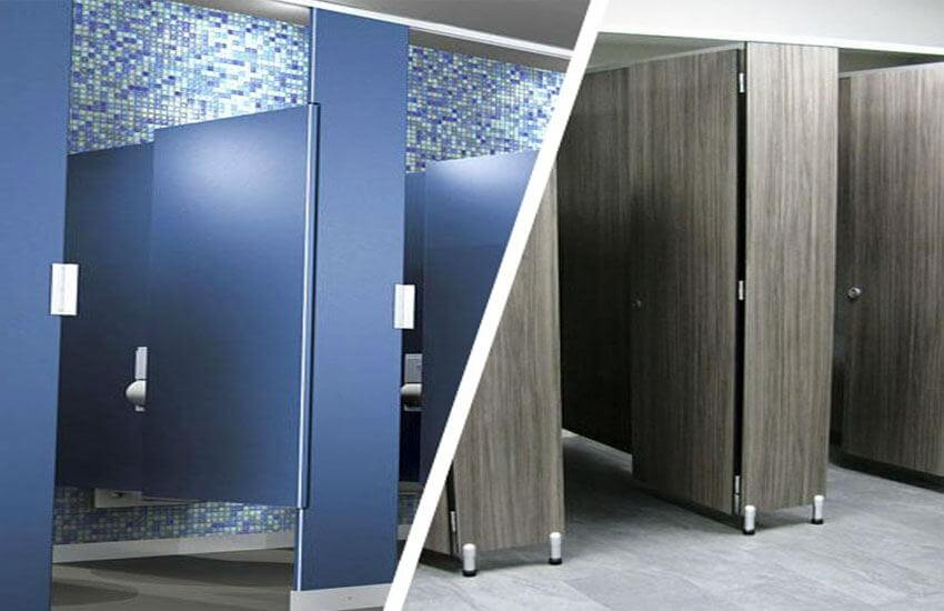 Important Facts on the Different Types of Toilet Partitions