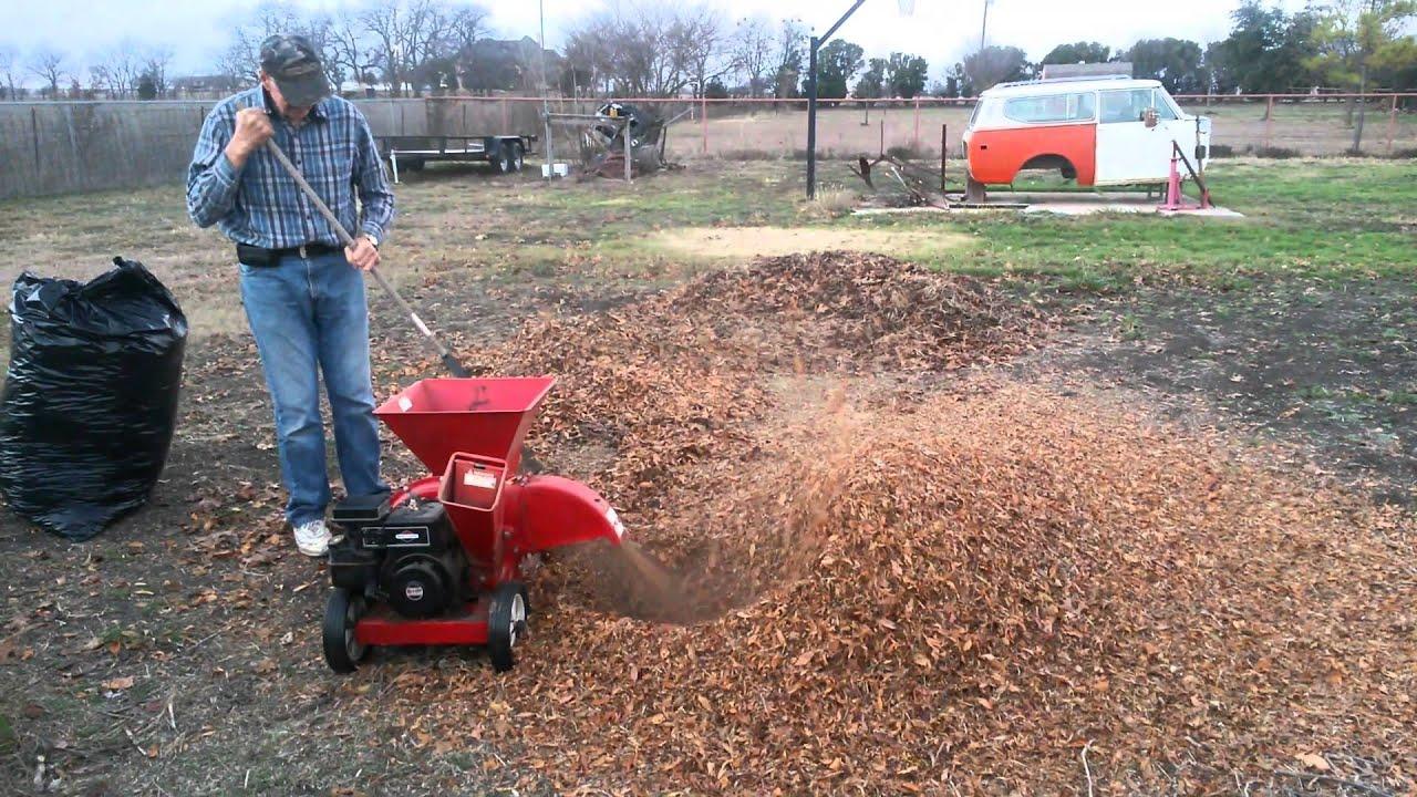 How Does Leaf Mulcher Work?