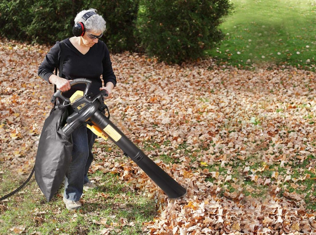 How Strong is a Leaf Vacuum and Mulcher?