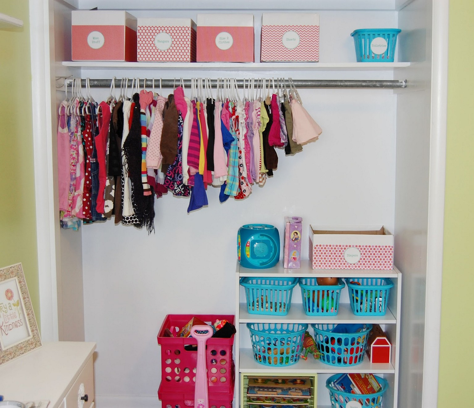 Kids and Baby Clothes Storage Ideas