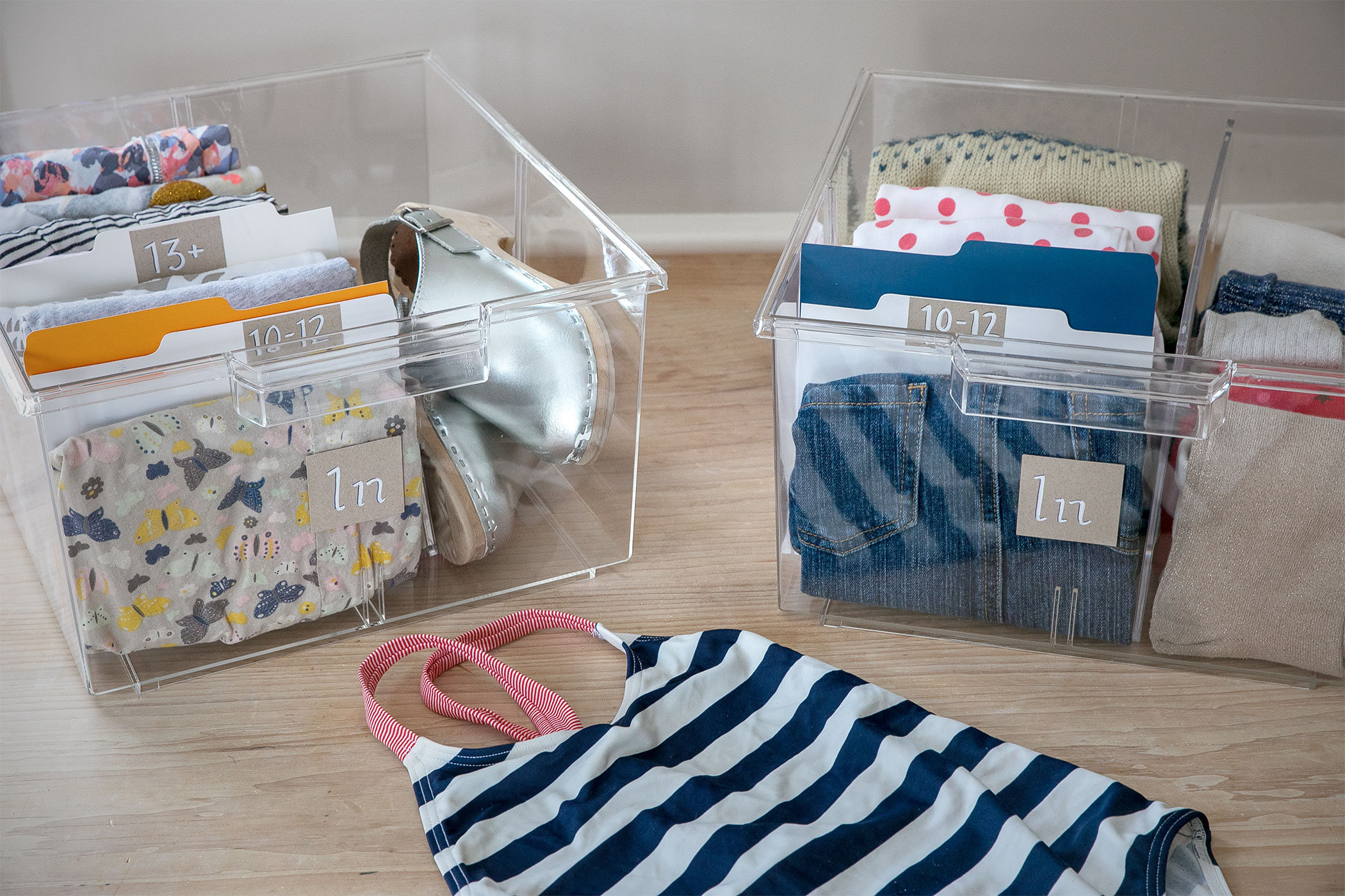 Organize Hand-Me-Downs