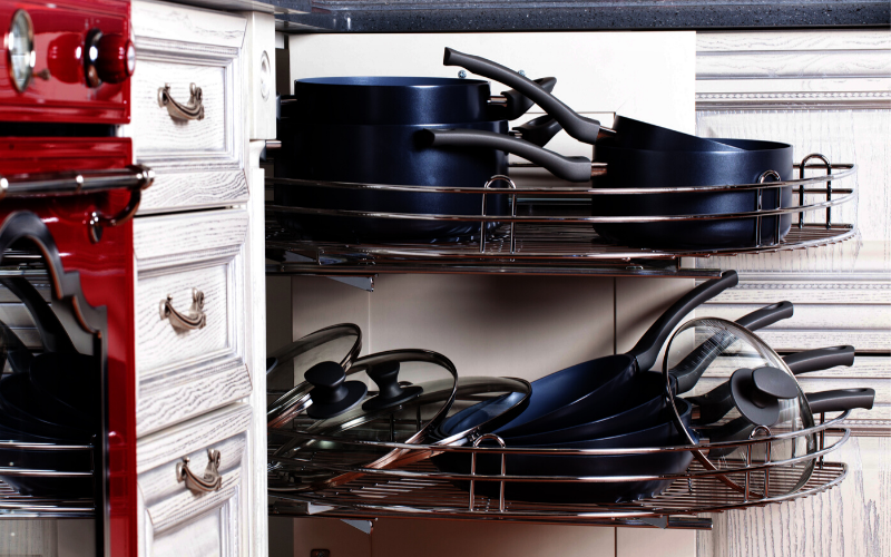 Organizing Pots And Pans Ideas and Solutions