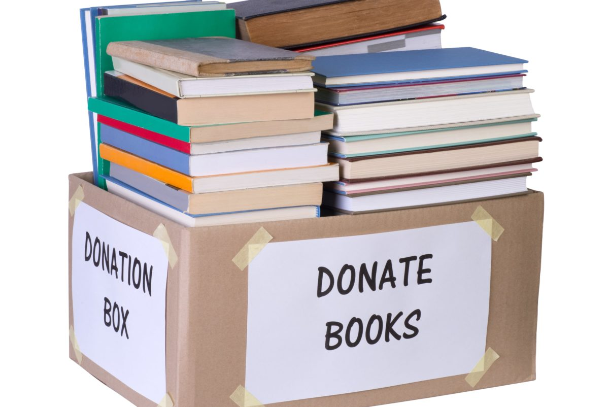 Top 13 Places to Donate Used Books
