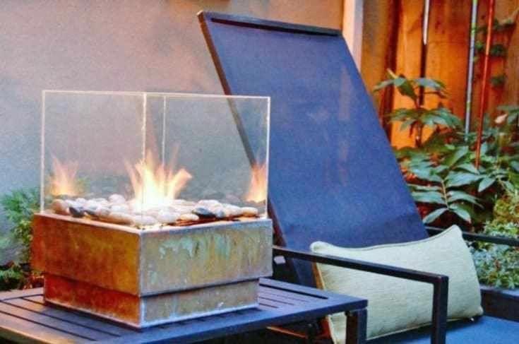 Zen Mini Fire Pit