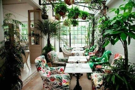 B&h buildings #london #plants #fresh #dining