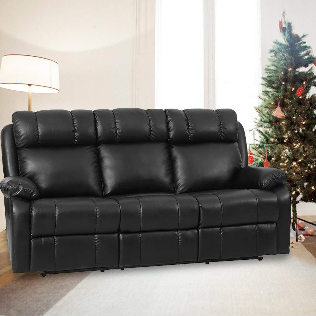 Mua Recliner Sofa Loveseat Leather Sofa Recliner Couch Manual ...
