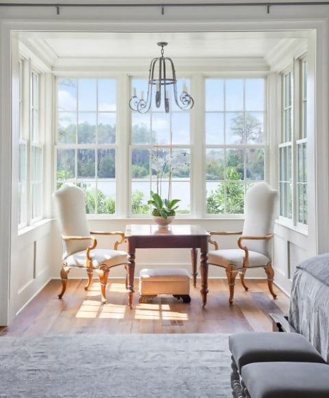 Relaxed Southern Living in Georgian Home - Town & Country Living