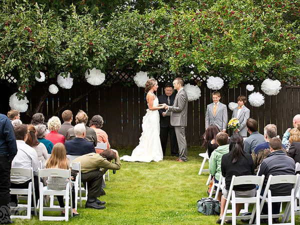 How to Plan the Perfect Backyard Wedding